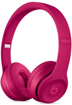 Beats Solo3 Wireless - Neighborhood Collection - Rosso amarena
