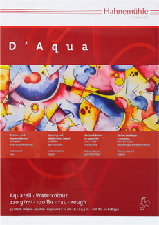 Hahnemühle Toscana Aquarell-Block 18x24