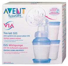 12/10 AVENT VIA ISIS Milchpumpe
