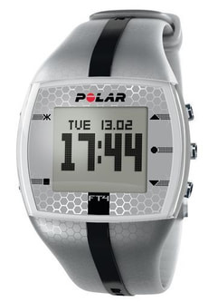 Polar FT4 Men silver / black