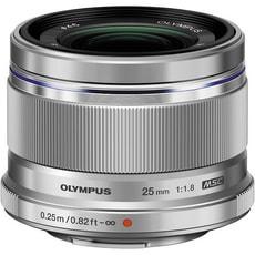 Olympus m.Zuiko Digital 25mm 1:1.8 silbe