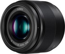 Lumix G 25mm f/1.7 schwarz