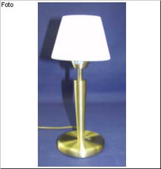 LAMPE DE TABLE BEATRICE BRONZE