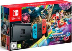 Switch Bundle inkl. Mario Kart 8 Deluxe (vorinstalliert)