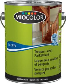Treppen- und Parkettlack seidenmatt Farblos 2.5 l