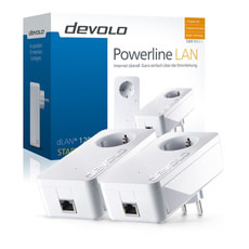 dLAN 1200+ Powerline Starter Kit