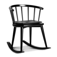 W608 fauteuil à bascule noir