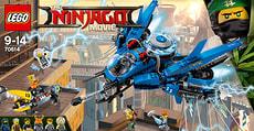 LEGO NINJAGO Jay's Jet-Blitz 70614