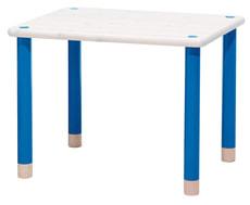 Tisch weiss/blau FLEXA