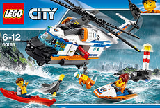 LEGO City Seenot-Rettungshubschrauber 60166
