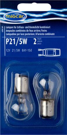 Ampoule P21/5W, feu d'arrière/frein