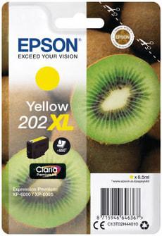 Tintenpatrone 202XL gelb
