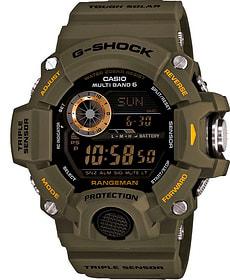 Casio GW-9400-3ER Armbanduhr grün