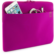 "Second Skin bag 15,6"" - fuchsia"