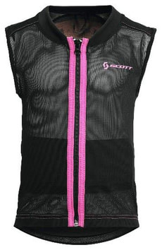 Scott Vest Protector Jr. black/pink