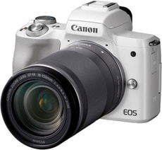 EOS M50 18-150mm - weiss