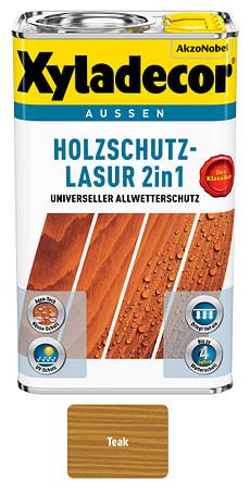 Holzschutzlasur Teak 2.5 l