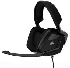 VOID PRO Surround 7.1 Cuffia gaming, Carbon nero