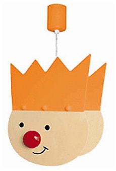 Suspension fils du roi orange
