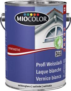 Synthetic Profi Weisslack seidenglanz Weiss 2.5 l