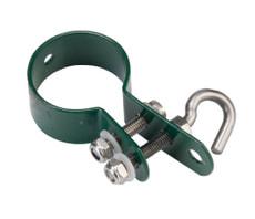 Schelle Geflechtsspannstab grün, 38 mm