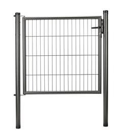 Porte panneau simple fil antracite métallisé