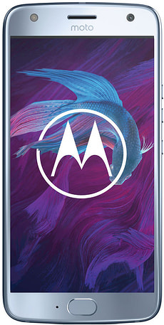 Moto X4 blau Dual Sim