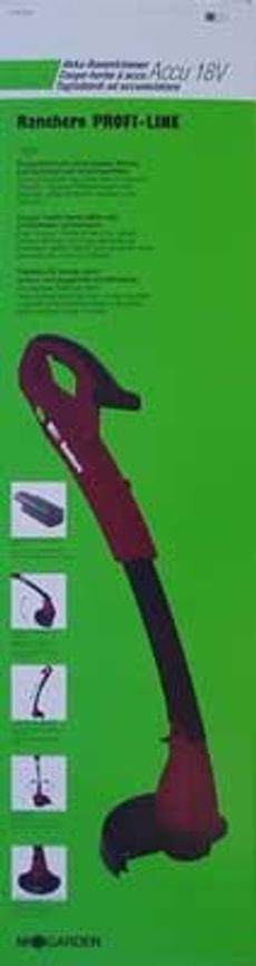 AKKU-RASENTRIMMER 18V