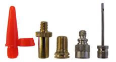 Set d'adaptateurs pour valves, adaptateur pour ballon compris