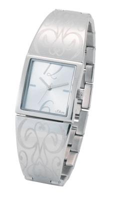 L-s.Oliver PURE DESIGN grau Armbanduhr
