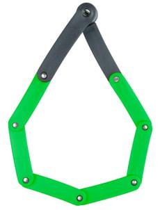 Serrure à cylindre pliable, B/730/80 Green