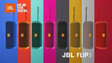 FLIP 3 Bluetooth Speaker orange