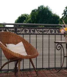 Bris-vue pour balcon 300 x 90 cm