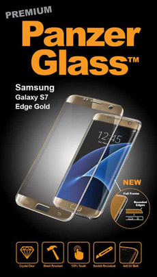 Premium Samsung Galaxy S7 Edge - gold