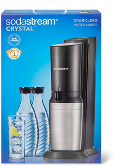 SODA STREAM CRYSTAL BLACK - HIT