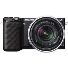 NEX-5R Set 18-55mm schwarz Systemkamera