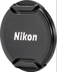 LC-N55 Bouchon d'objectif 55mm nero