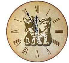 Horloge murale à quartz WT 1018 diam