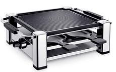 4er Raclette-Grill chrom