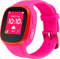 Movetime Family Watch MT30 (3G) Fuchsia + Red