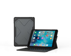 Rugged Messenger Book Keyboard Cover iPad 10.5""