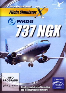 PC - PMDG 737 NGX (Add-On für FSX)
