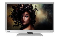 "TOSHIBA 24"" LED TV  24D1334G weiss"