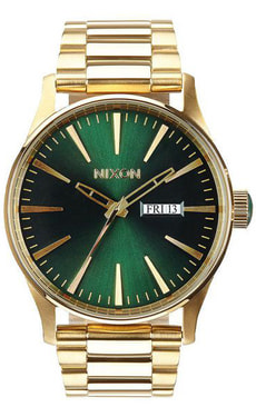 Sentry SS Gold Green Sunray 42 mm