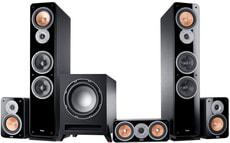 Ultima 40 Surround 5.1 Set - Schwarz