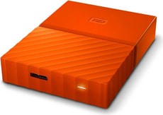 My Passport 3TB Disque externe 2.5'' orange