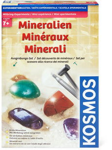 Mineralien Ausgrabungs-Set