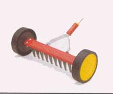 Garten Vertikulier-roller