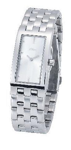 L- s.Oliver TIGER gris montre