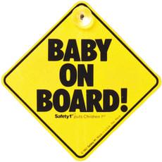 Panneau bébé à bord